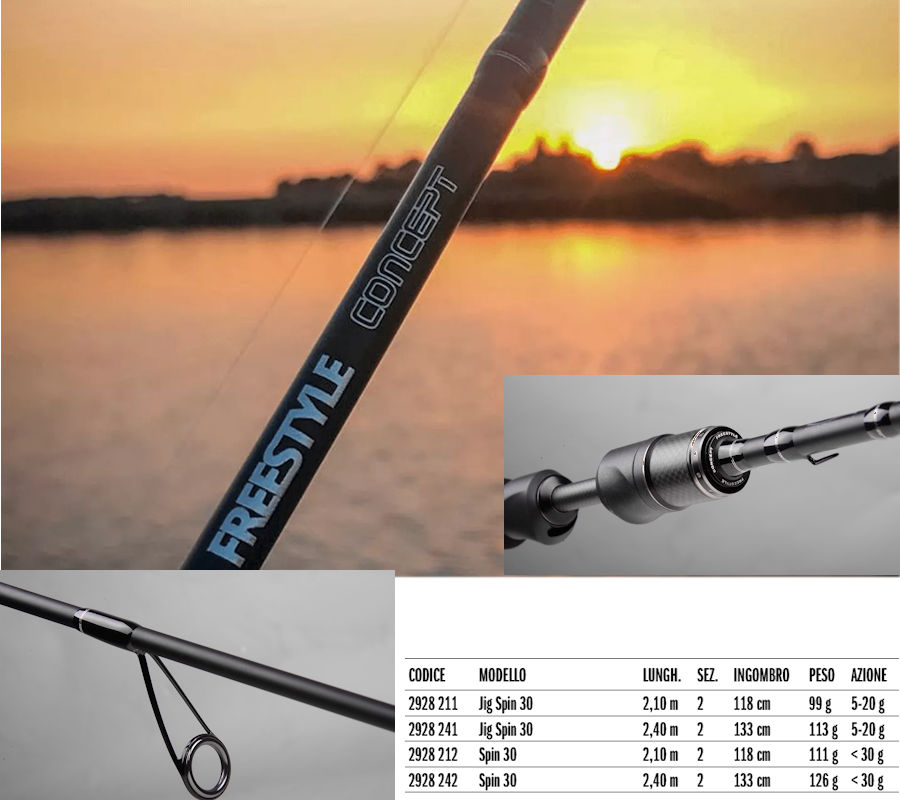 SPRO FREESTYLE CONCEPT FASSA STREET FISHING